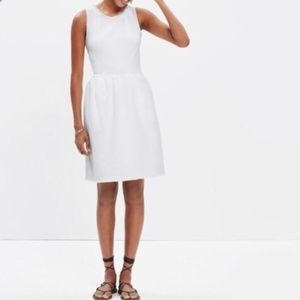 Madewell Off White Afternoon Fringe Dress